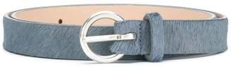 Closed goat fur belt
