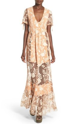 For Love & Lemons 'Mia' Maxi Dress $343 thestylecure.com