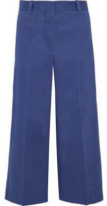 3.1 Phillip Lim Cropped Cotton-Blend Twill Wide-Leg Pants