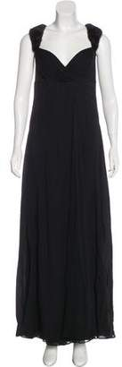 J. Mendel Silk Evening Dress