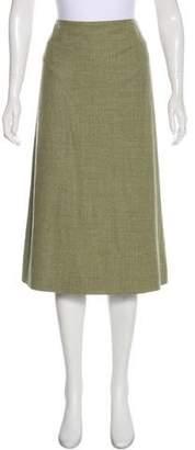 TSE Wool Knee-Length Skirt