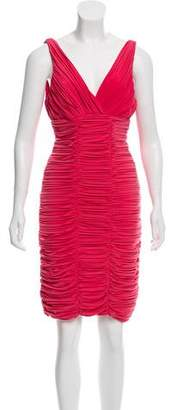 Nicole Miller Ruched Bodycon Dress w/ Tags