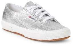 Superga Textured Low-Top Sneakers