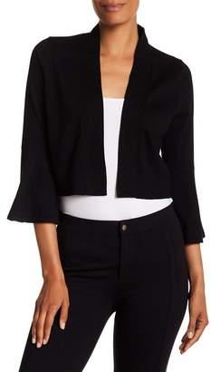 Modern American Designer Bell Sleeve Knit Shrug