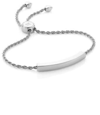 Monica Vinader Engravable Linear Friendship Chain Bracelet
