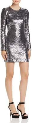 Rachel Zoe Karlee Sequined Long Sleeve Mini Dress - 100% Exclusive