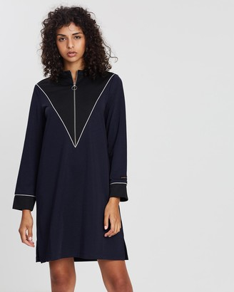 Scotch & Soda Sporty Zip-Up Dress