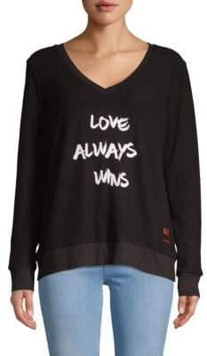 Peace Love World Love Graphic Sweatshirt
