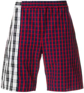 Gosha Rubchinskiy checked bermuda shorts