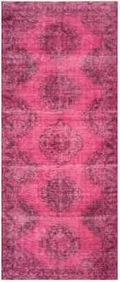 Nalbandian Overdye Hand-Woven Wool Turkish Rug