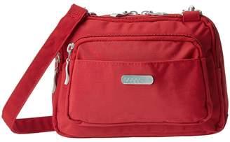 Baggallini Triple Zip Bagg Cross Body Handbags