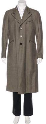 Paul Smith Houndstooth Wool Coat