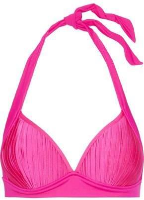 Seafolly Pleated Halterneck Bikini Top