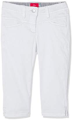 S'Oliver Girl's 66.703.76.3017 Trousers,(Slim)