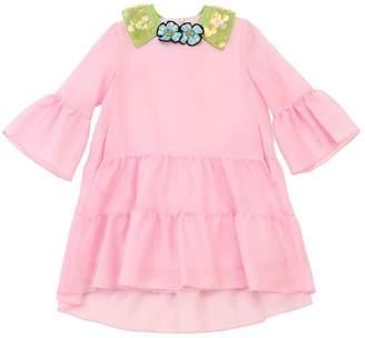 Mimisol SILK CREPE BLEND PARTY DRESS