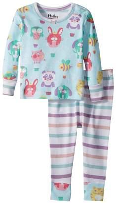 Hatley Cutie Balloonies Long Sleeve Mini Pajama Set Girl's Pajama Sets