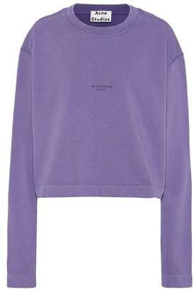 Acne Studios Odice cotton jersey sweatshirt
