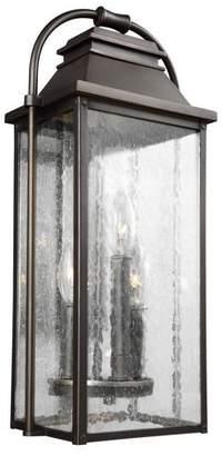 Feiss 3-Light Outdoor Wall Lantern