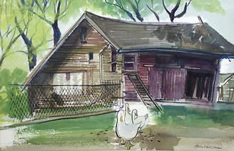 One Kings Lane Vintage Geese by Helen Edell Sloan