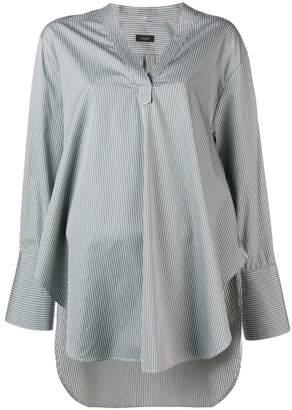 Joseph longsleeve henley oversized blouse