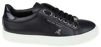 Philipp Plein Lo-top Sneakers blue Light In Leather Blue
