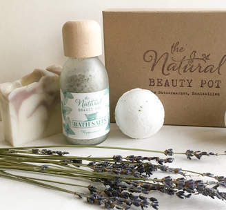 The Natural Beauty Pot Build Your Own Bath Time Gift Set