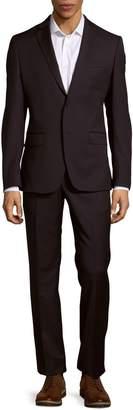 Versace Modern-Fit Wool Suit
