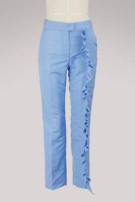 MSGM Pants with ruffles