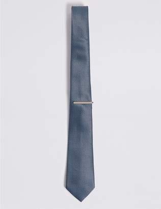 Marks and Spencer Micro Diamond Tie & Pin Set