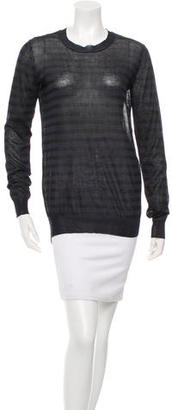 Vera Wang Striped High-Low Sweater $70 thestylecure.com