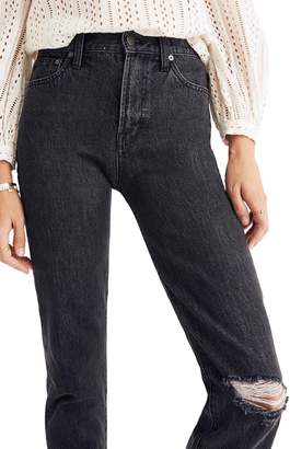 Madewell The Perfect Vintage Ripped Knee Jeans