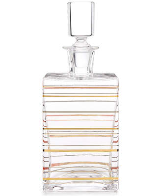 Martha Stewart Collection CLOSEOUT! Collection Barware with a Twist Whiskey Decanter, Created for Macy's