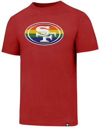'47 Men's San Francisco 49ers Pride Club T-Shirt