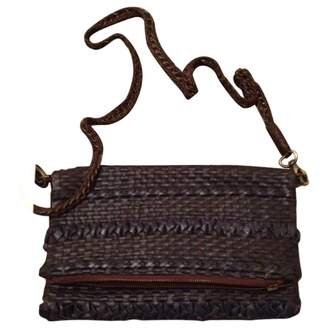 Antik Batik Leather Clutch With A Shoulder Strap