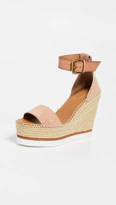 694f6010daa See By Chloe Glyn Espadrille Wedge Sandals - ShopStyle