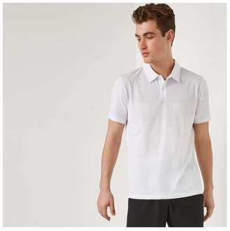 Joe Fresh Men's Moisture-Wicking Polo, White (Size XS)