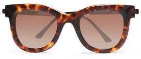 Thierry Lasry Square-Frame Tortoiseshell Acetate Sunglasses