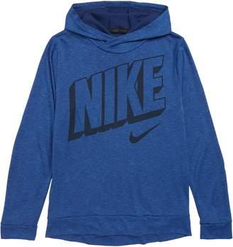 Nike Breathe Long Sleeve Dry Pullover Hoodie