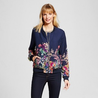 Merona Women's Printed Bomber Jacket $29.99 thestylecure.com