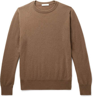 The Row Benji Slim-fit Cashmere Sweater - Camel