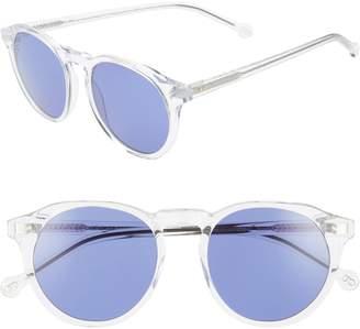 Colors In Optics Sandy 51mm Gradient Round Sunglasses