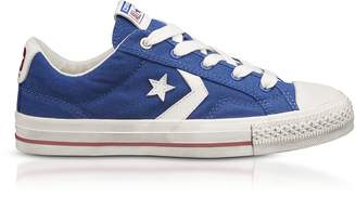Converse Limited Edition Blue Star Player Distressed Ox Canvas Men's Sneakers