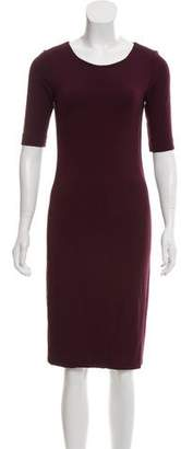 Diane von Furstenberg Raquel Scoop Knee-Length Dress