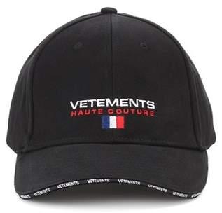 Vetements Cotton baseball hat