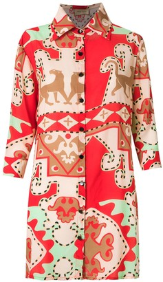 Adriana Degreas printed shirt
