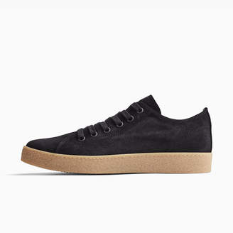 James Perse CARBON VELOUR SUEDE SNEAKER - MENS