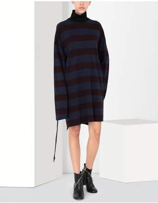 Maison Margiela Striped Jersey Dress