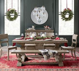 Pottery Barn Banks Extending Dining Table