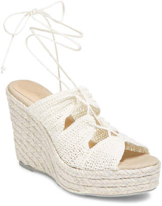 Manebi Rainbow Wedge Sandal