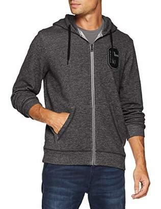 GUESS Men's M83q08k7cp0 Sports Hoodie, Grey Griffin Melange He98, Large